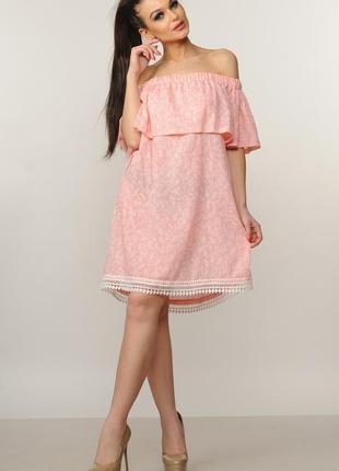 """Платье """"молли"""" розовый"""