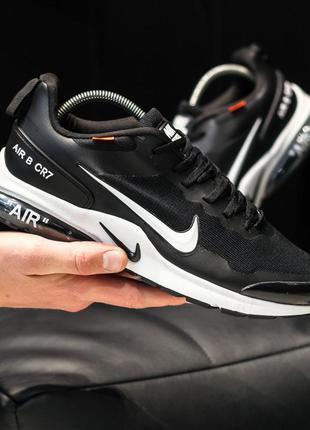 Nike air presto cr7 black white кроссовки найк