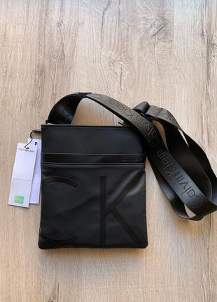 Calvin klein чёрные ♦ мужская сумка ♦ мужской аксессуар