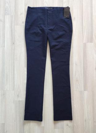 Круті сині брюки xl синие штани от zara
