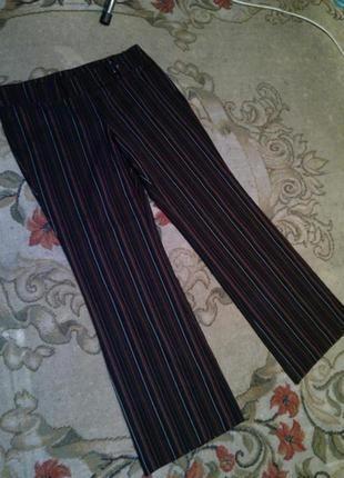 Супер стрейч,классные брюки в полоску,большого размера,authent...