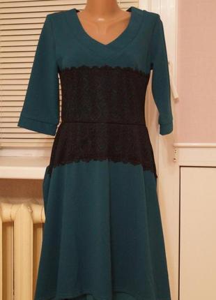 Коктейльное платье с биркой р-р 44-46, м