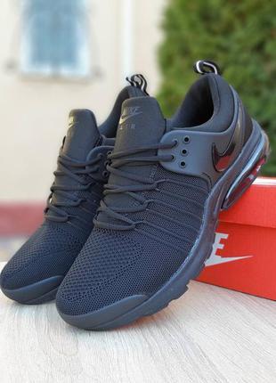 Nike air presto 🔺 мужские кроссовки  найк еир престо черный