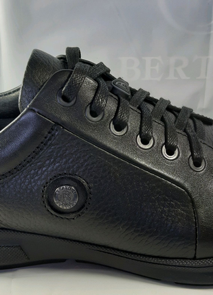 <<Кожаные туфли-кеды Bertoni спорт-комфорт. 41,42,43,44,45.