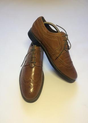 Туфли оксфорды броги easy