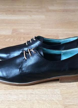Кожаные туфли everybody 36 размера в идеальном состоянии