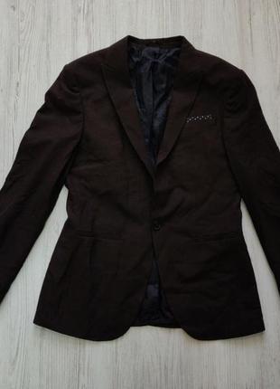 Распродажа до 30 июня 🔥  классический мужской пиджак в шоколад...