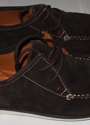 Мокасины новые кожаные hush puppies в коробке