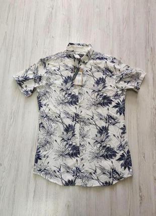 Распродажа до 30 июня 🔥  мужская рубашка с цветочным принтом