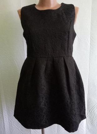 Платье zhizihuakai,  р. 40-44. жаккардовое
