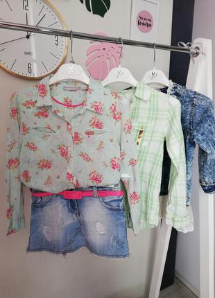 Одежда на девочку 7-8 лет