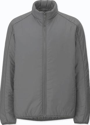 Крутая куртка men's uniqlo padded stand jacket+🎁