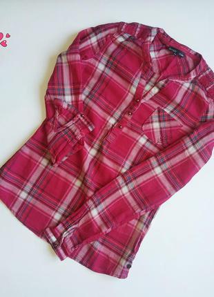 Рубашка брендовая, блуза в клетку, молодежная одежда