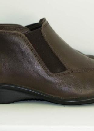 Ботинки ботильоны кожаные pavers, р. 36
