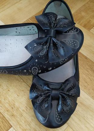 Туфли, балетки с перфорацией