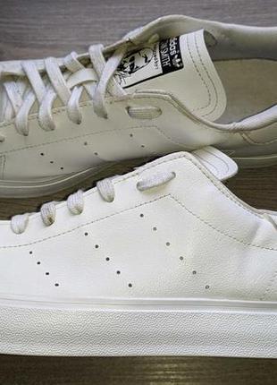 Adidas stan smith - шкіряні кросівки-кеди