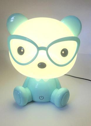 Детский светильник ночник медвежонок