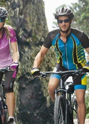 Мужские и женские велошорты велокапри, вело шорты капри crivit...