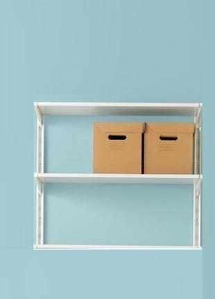 Зручні коробки з картону з ручками для зберігання 2шт , 33*23*23