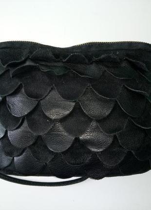 Сумка сумочка topshop натуральная замша и кожа.