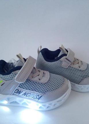 Стильные кроссовки для мальчика от jong golf