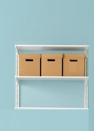 Зручні коробки з картону з ручками для зберігання 3шт , 33*23*23