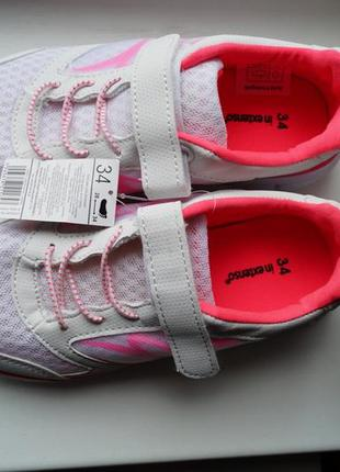 Кроссовки белые с розовым новые для девочки р. 28,30,31,32,34