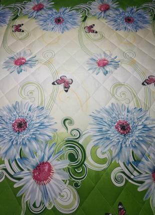 Качественный красивые одеяло(летнее)покрывало евро,2х и полуто...