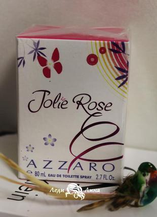 Женская туалетная вода 80мл azzaro jolie rose