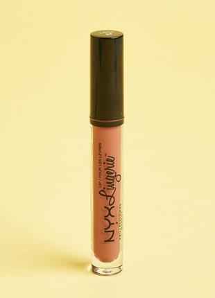 Nyx lip lingerie жидкая помада для губ cabaret show , 4 мл.