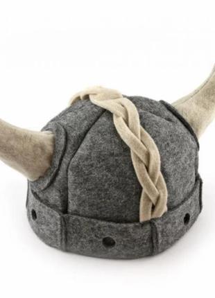 Шапка для бани сауны viking