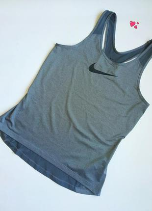 Майка nike спортивная с дышащей спинкой, одежда для фитнеса