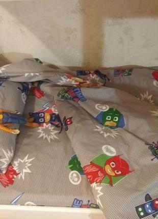 Детское постельное герои в масках