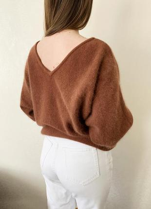 Свитер, кофта, джемпер, пуловер, шерсть, ангора, louis london