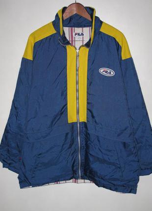 Осенняя куртка fila vintage. оригинал