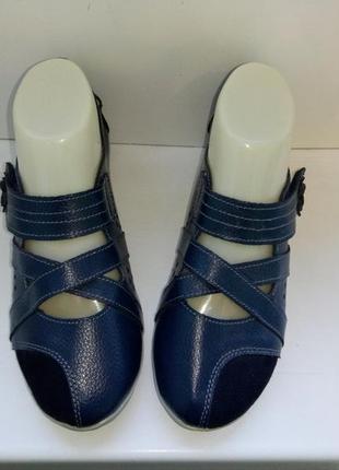 Туфли кожаные lifestyle, р. 37.