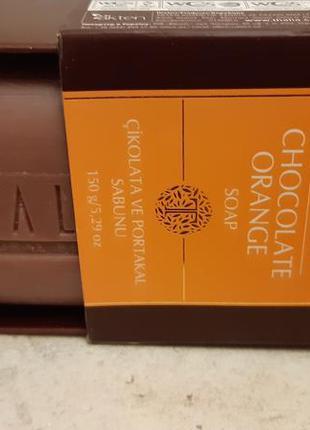 Натуральное мыло шоколад и апельсин thalia, юнайс