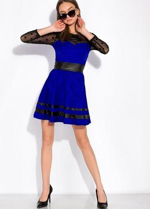 Платье с пышной юбкой 150p011