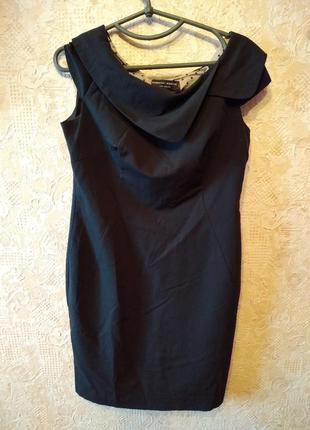 Платье на подкладке черное #розвантажуюсь