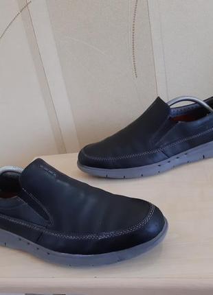 Мужские туфли clarks unstructured размер 43-44