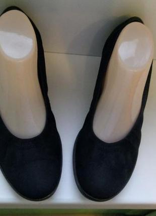 Туфли gabor, р. 40. нубук, кожа