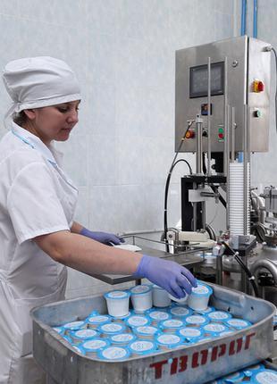 Пакувальник молочної продукції. Работа в Польщі.