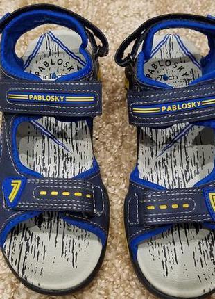 Pablosky - босоножки мальчикам