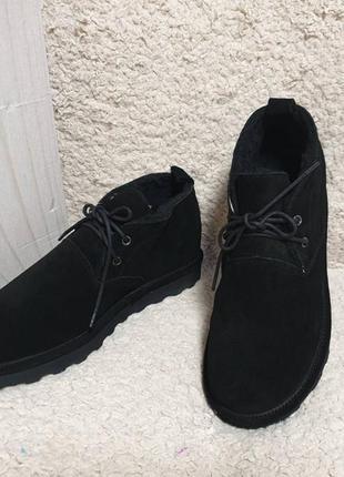 Bearpaw spencer - натуральные зимние ботинки