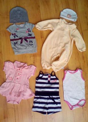 Одежда для малышке 0-6 мес.