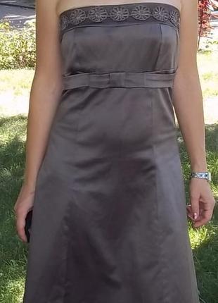 Итальянское нарядное платье с-м