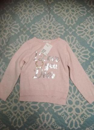Джемпер с пайетками h&m (hm), свитер