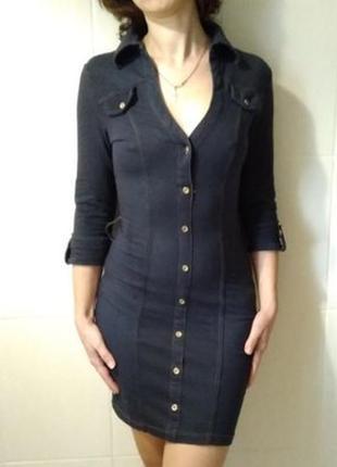 Классное платье под джинс