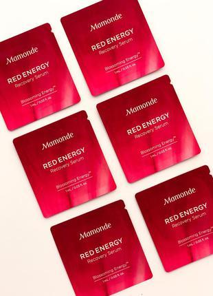 Пробник mamonde red energy recovery serum восстанавливающий се...