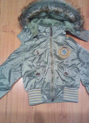 Модная демисезонная курточка
